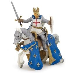 Saint Louis pe cal - Figurina Papo