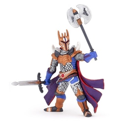 Cavaler cu triplu ax si sabie - Figurina Papo