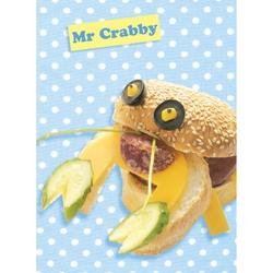Felicitare amuzanta gastronomica-Domnul crab