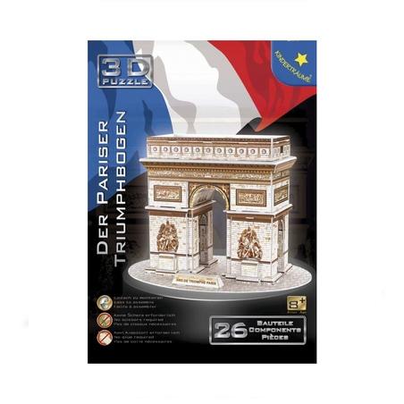 Puzzle 3D 26 piese Arcul de Triumf