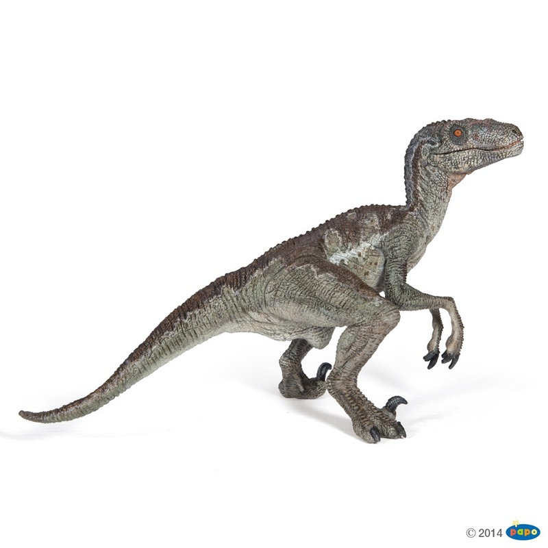 Figurina Papo-Dinozaur Velociraptor 17x10 cm