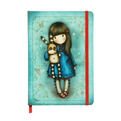 Agenda cu coperti cartonate Gorjuss - Hush, Little Bunny