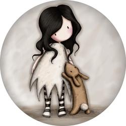 Magnet Gorjuss - I Love you, Little Rabbit