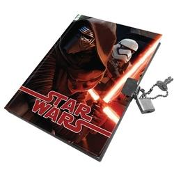 Jurnal cu lacatel 14x18cm Star Wars
