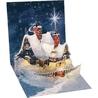 Minifelicitare 3D Craciun - Winter cottage