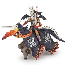 Cavalerul dragon razboinic si calul sau - Set figurine Papo