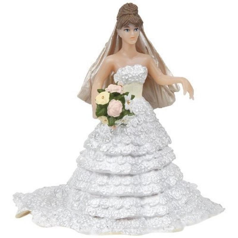 Figurina Papo-Mireasa in dantela