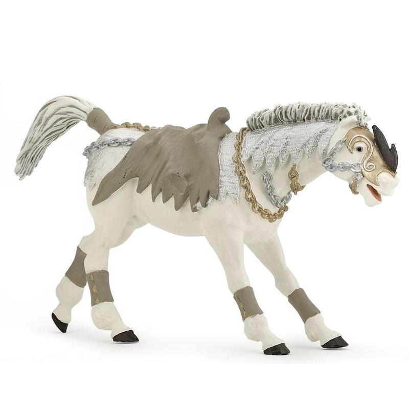 Figurina Papo-Calul cavalerului fara fata