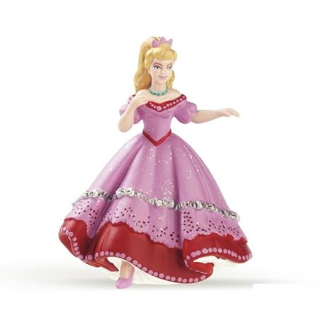 Figurina Papo-Printesa dansand-roz