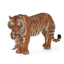 Figurina Papo Tigru cu pui