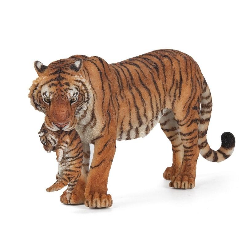 Figurina Papo - Tigru cu pui