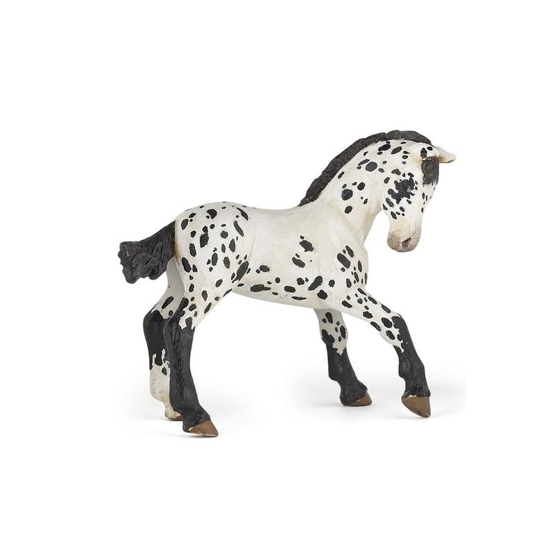 Figurina Papo Manz appaloosa negru