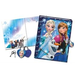 Jurnal 3D cu lacatel Frozen Anna si Elsa