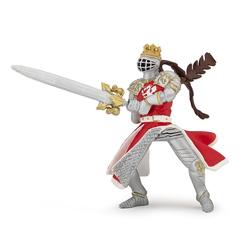 Figurina Papo-Rege Dragon cu sabie