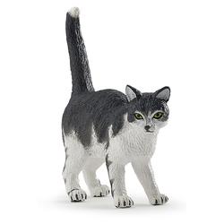Figurina Papo-Pisica alb cu negru