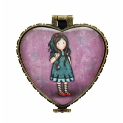 Gorjuss Inima mica ceramica-Pulling On Your Heart Strings
