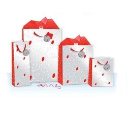 Punga de iarna / Craciun - Reni & Merry Christmas M