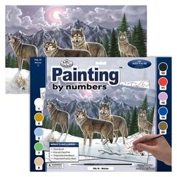 Pictura pe nr avansati mare-Haita lupi