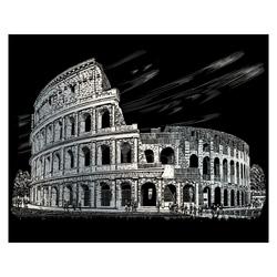 Gravura pe folie argintie-Colosseum