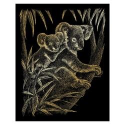 Gravura aurie-Koala 21x30 cm