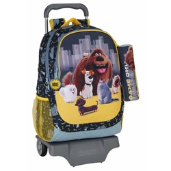 Ghiozdan-troler si penar THE SECRET LIFE OF PETS 33x43x15