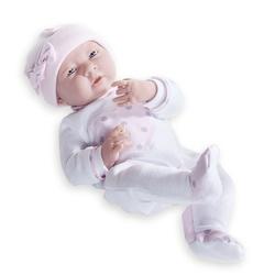 Jucarie bebe nou-nascut fetita costumas roz 38cm
