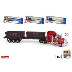 Camion cu 2 incarcaturi diecast 6 modele