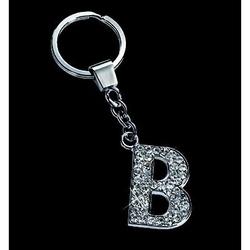 Breloc cu cristale litera B