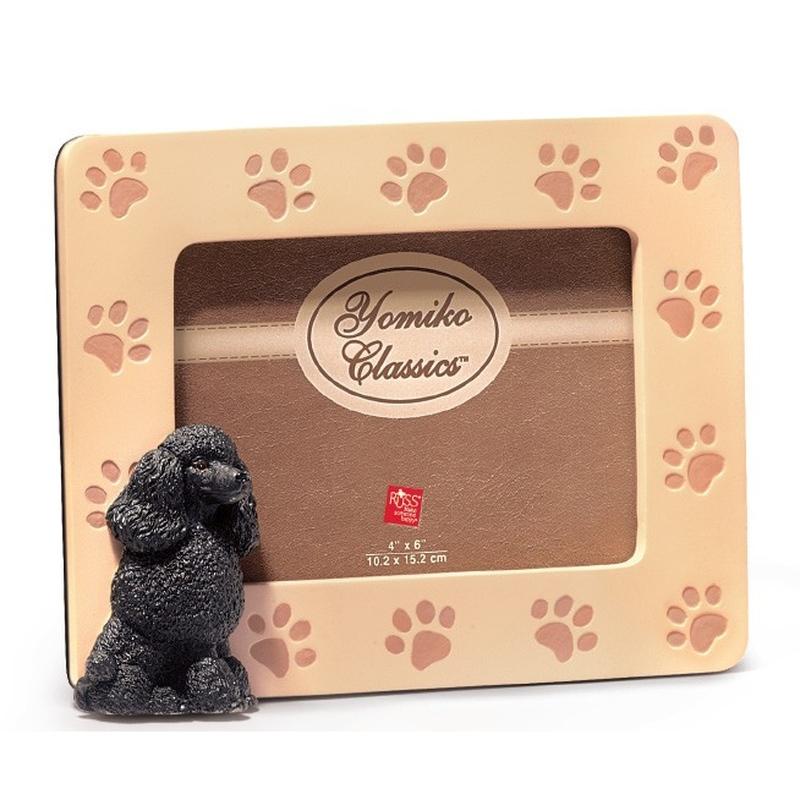 Rama foto - catelus Black Poodle (20.5x16cm)