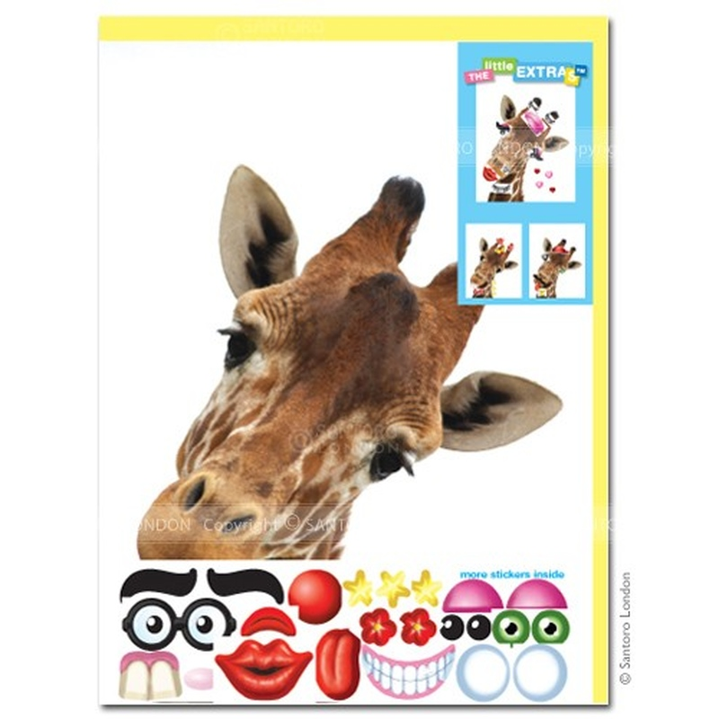 Felicitare amuzanta Little Extra Girafa