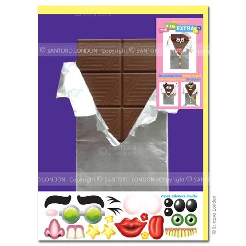 Felicitare amuzanta Little Extra Ciocolata