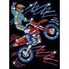 Pin-in-Art-set creativ cu paiete-Motocicleta
