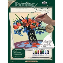 Pictura pe panza 23x31x2,5 cm - stil floral