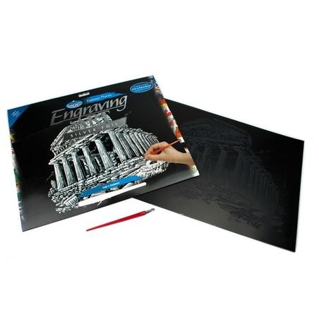 Set gravura - locuri celebre-Parthenon 29x39cm