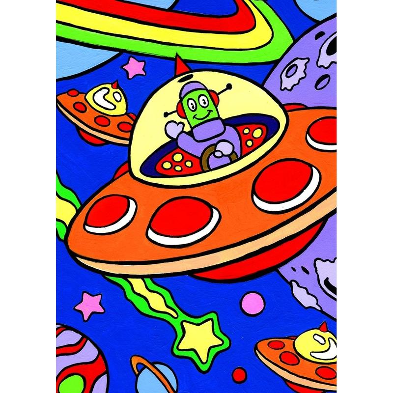 Prima mea pictura pe nr junior Spatiu 23x30 cm