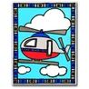 Primele mele 2 picturi pe nr.junior-Avion si elicopter 24x33 cm