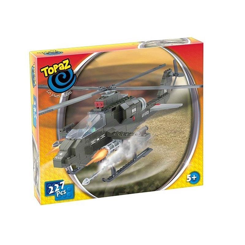 Elicopter de lupta-227 piese compatibile integral si cu piesele produse de alte marci de calitate