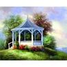 Canvas master 11 X 14 ACRYLIC Lac GAZEBO