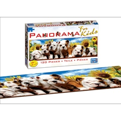 Puzzle 120 piese-Catei Buldog