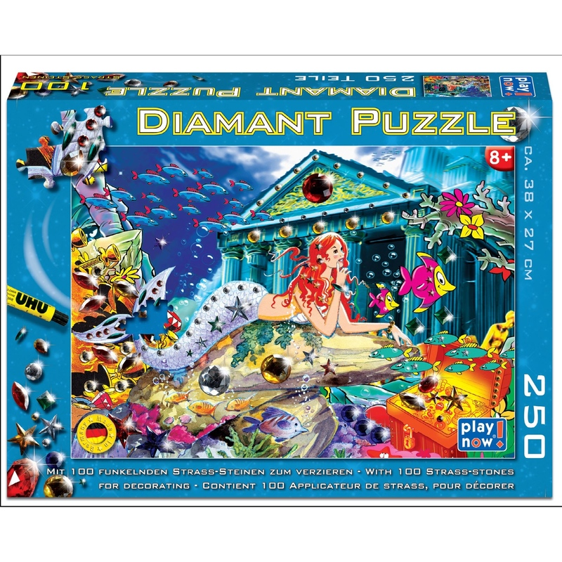 Puzzle pentru copii 250 piese Diamant - Sirena