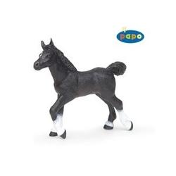 Manz anglo - Arab negru - Figurina Papo