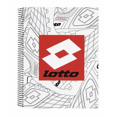 Caiet cu spira A4-80 de file colectia Lotto