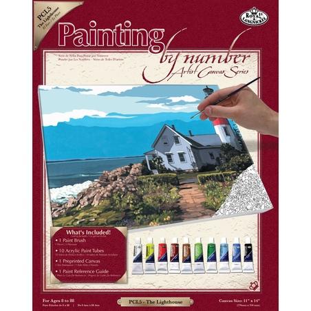 Set pictura pe panza 28x36x25 - Far