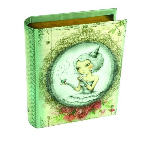 Cutie accesorii sub forma de carte & felicitari Eclectic™