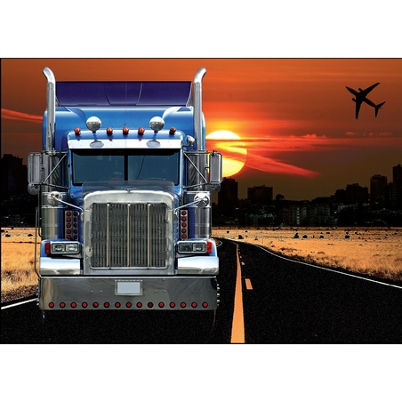 Puzzle 250 piese-Camion