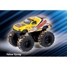 Jucarie Monster Truck 4x4 die cast metalic, scara 1:58