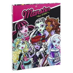 Dosar carton plastifiat Monster High All Stars