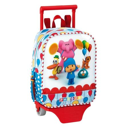 Mini-ghiozdan trolley gradinita colectia Pocoyo Party