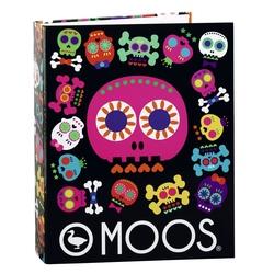Biblioraft carton cu 4 inele colectia Moos Cranii