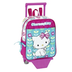 "Mini-ghiozdan trolley gradinita colectia Charmmy Kitty ""Flowers"" 2"